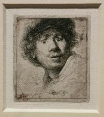 Rembrandt_Selbstportrait